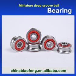 China Supplier Motorcycle Wheel Deep Groove Bearings