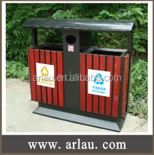 Timber Slated Bin Ideal for Parks and Foreshore