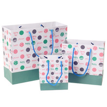 Sweet And Happy Spot Paper Gift Bag