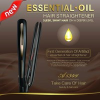 LED Essential Oil Hair Straightener,Professional Hair Straightener/ Ceramic Hair Straightener