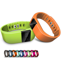 Smart android bluetooth wristband with Pedometer,stopwatch, calorie