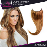 Full Cuticle Straight Oem Lasting Long Human Expression Hair Wholesale