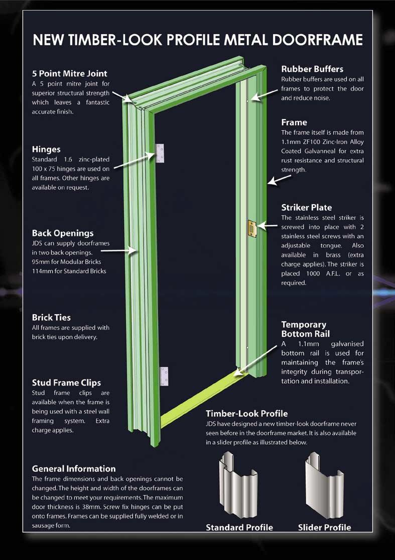 Metal Door With Metal Frame : Timber profile steel door frame buy