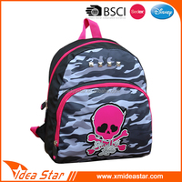 Top quality camouflage backpack durable stylish name brand school bag
