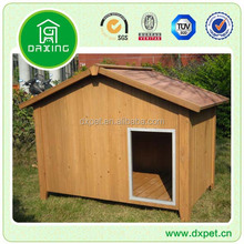 Waterproof outdoor garden wood dog house