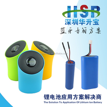 High Quality, Hot Sale 3.7V 4000mAh lithium ion battery pack for medical devices, bluetooth etc
