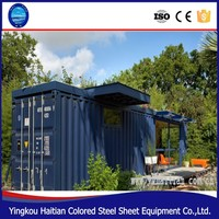 Container house and steel prebuilt container home for sale, prefabricated container house