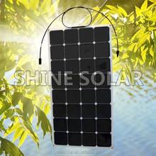 solar panel 30 watt flexible solar panel 12V 100W for marine/boat/golf car