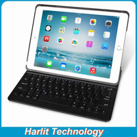 Folio Bluetooth Keyboard Case for iPad Air with Dual Angles Viewing Modes and Auto Sleep / Wake Keyboard Black Color
