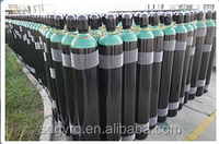 2015 hot sale exported 40L new empty seamless steel oxygen gas cylinder reasonalbe price