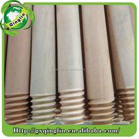 eucalyptus chip wooden broom handles for houeshold broom