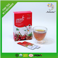 Organic Instant Cherry Black Tea Drinks Powder