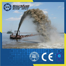 Chinese manufacturer river sand mining dredger/gold dredging boat/cutter suction dreger on sale