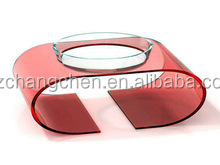 luxury red large animal activity display fashionable Colorful acrylic pet home bowl display stand