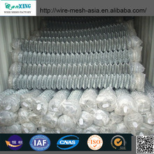 hot dip or electro galvanized chain wire fencing