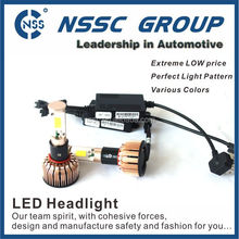 NSSC car h4 head led light led headlight bulbs lamp 9006 9007 car accessories