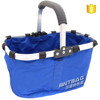 Non woven folding camping basket/picnic basket/shopping basket