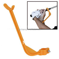 Hot sale Golf Practice Swing Educational Trainer Guide Gesture Alignment Training Wrist Correct Aid Plane Tool Club