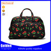 Alibaba online women's pretty trolley bag pattern printed travel duffel bag for girl's short time trip