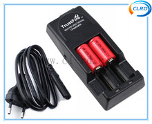 wholesale trustfire charger dual Trustfire TR001 Battery Charger for 18500 18650 battery with EU/US/UK Plug