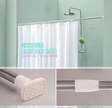 Household shower curtain rod,Telescopic shower curtain rod,High quality curtain rod made in china