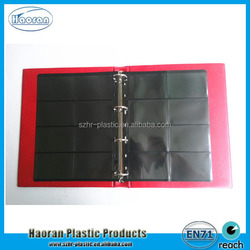 PU Cover Material and Spiral Binding photo album lamination
