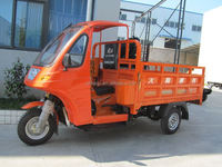 Semi-closed Tricycle 200cc Cargo tricycle air delivery small cargo with CCC