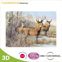 Custom 100LPI 3D Lenticular PET Pictures of Dear