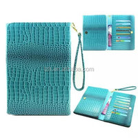 CROCO Universal Wallet PU Leather Case for 8 inch tablet PC