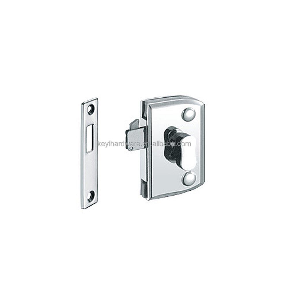 Thumb Turn Door Lock For Double Swinging Glass Doorcommercial Glass