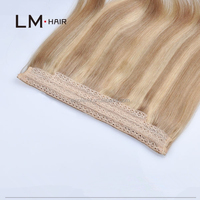 new products Mixed length acceptable brazilian straight human hair cheap halo hair extensions