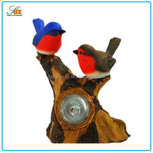 Good Quality Hot-sale Resin Bird Figurines Color Polyresin Animal Figurines in Garden Decoration