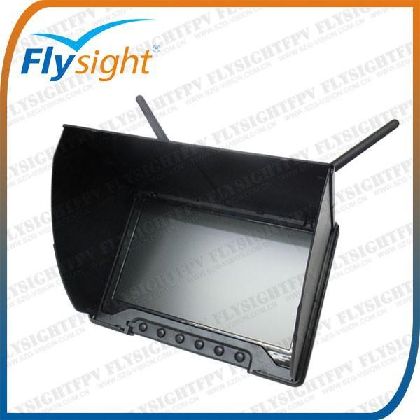 C736 5.8 GHz FPV 32CH double diversité HD écran LCD récepteur 7in moniteur