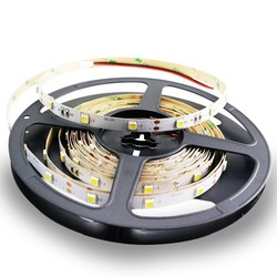 12volt 60leds/m IP20 led strip 3m tape adhesive
