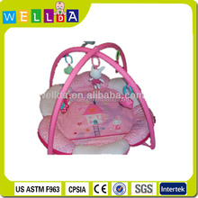 2014 hot new 100% cotton cheap baby play mat for promation