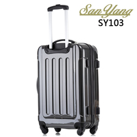 Trolley Luggage Suitcase Caster Board Chassis Women Students Lock Box Set