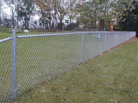 Made in china railing chain link fence/6 foot chain link fence/chain link fence weight
