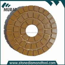 200mm Diamond Resin Bond Polishing Pads for Granite/Marble