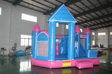 CE/UL EN14960 SGS lovely dolphin inflatable jumping castle slide combo