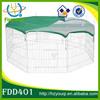 large light duty metal pet fence enclosure