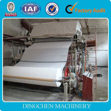 2015 the best selling products made in China,1575MM Hot Selling 3TPD Toilet Paper Making Machine