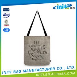 Waterproof reusable europe standard blank cotton tote bags