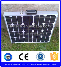 High standard 16% efficiency folding 100w solar panel foldable with TUV/CE/ISO