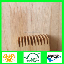 China Supplier high bending strength rubber finger jointed board
