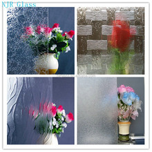 high quality patterned art glass for decorative building