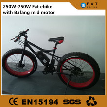 chinese fat tire hybrid electric snow bike bicycle