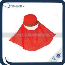 Red Beauty Women Uighur cap