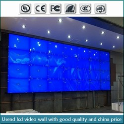 """55"""" 5.3mm ultra thin splicing lcd monitor multimedia digital video wall with good price"""