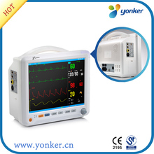 free shipping 12 inch Touch Screen Multi parameter Patient Monitor