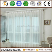 Hot sell ! 100% polyester pinch pleated terylene fabric for curtain sheer